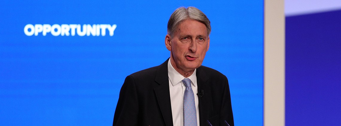 Hammond said the changes would allow firms more flexibility over how the levy is spent ©PA Images