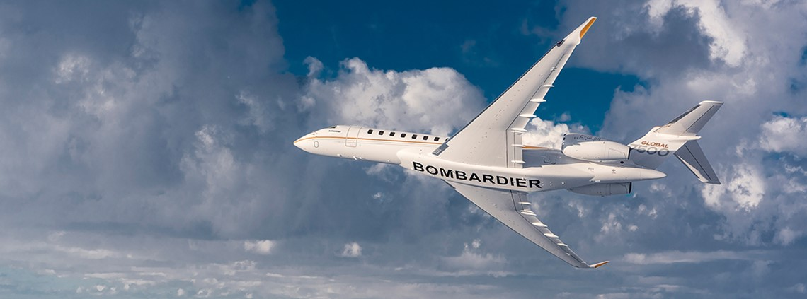Bombardier wants to cut its inventory from two months to two weeks © Bombardier