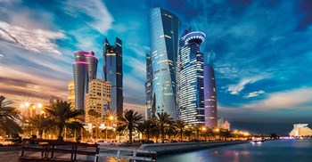 Qatar is an urbanised society: 99% of people live in towns or cities ©Adobe Stock