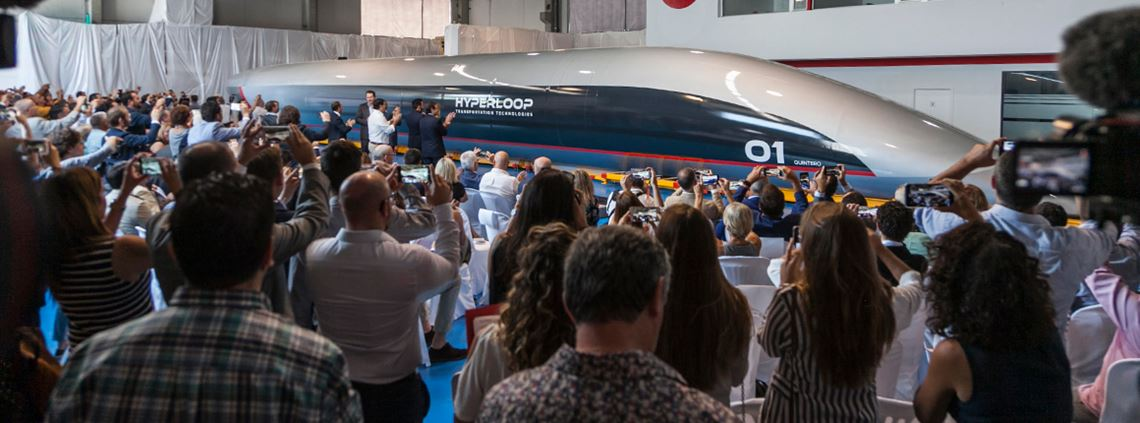 First passenger pod unveiled for UAE hyperloop system - Supply
