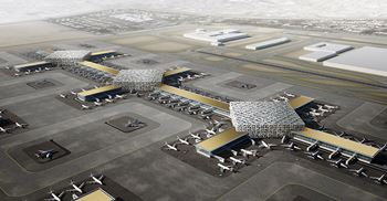 Al Maktoum Airport is expected to have capacity to handle 260m passengers a year on its eventual completion © Dubai Airports
