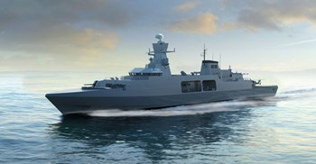 The spending plan resolved missing costs of a new fleet of frigates, but still ran £7bn over-budget © BAE Systems