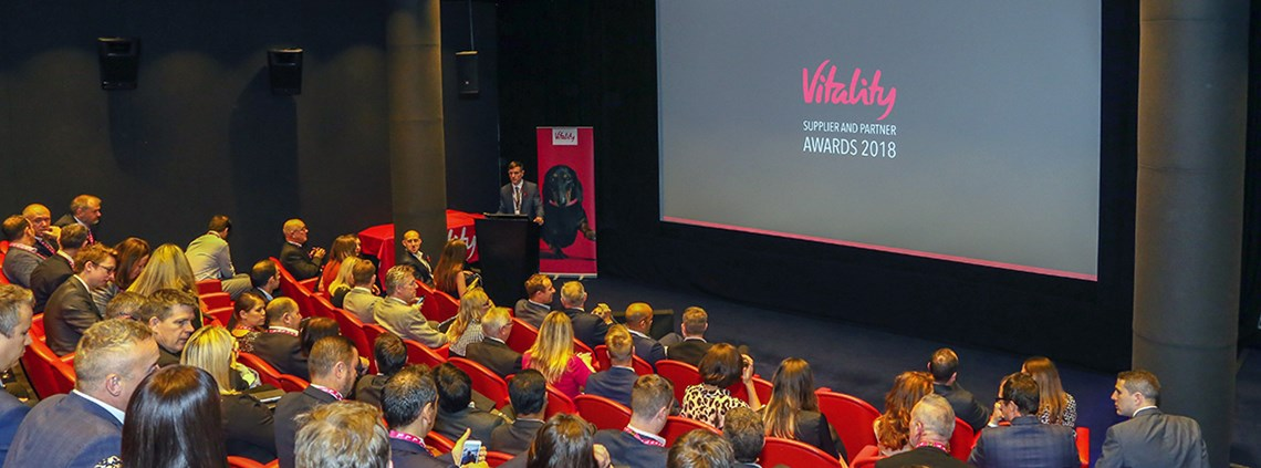 Vitality brought its key suppliers together at London's Soho Hotel