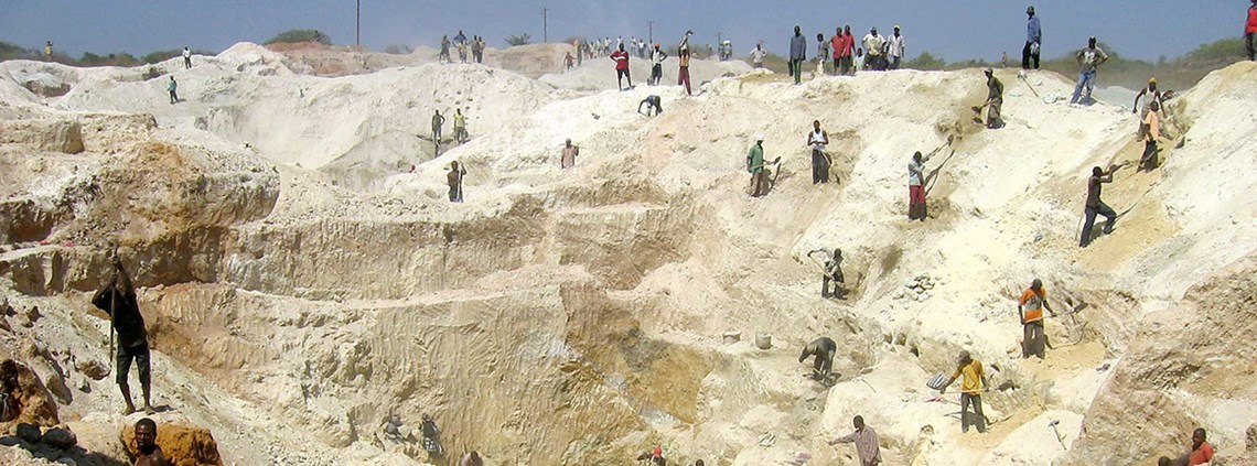 More than half of the world's cobalt is sourced from the DRC, of which 20% comes from small or artisanal mines ©Xinhua News Agency/PA Images