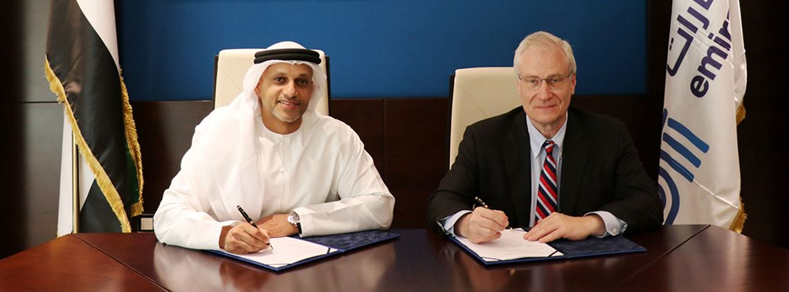 "The chiefs of Emirates Steel and Vale sign mutually beneficial ""high value"" agreement"