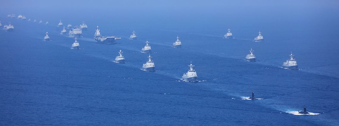 China lays claim to a large swath of the South China Sea ©Xinhua News Agency/PA Images