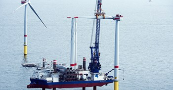Orsted expects the global offshore wind market to grow 15% annually ©Orsted