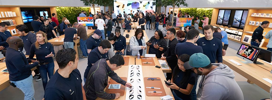 An NGO will help victims to pass interviews for non-customer facing jobs at Apple stores ©Apple