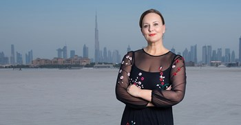 """When I moved to the UAE, I didn't know anyone, so each week I would do something outside my comfort zone."" Louise Mitchell. ©Wise Monkeys Productions"