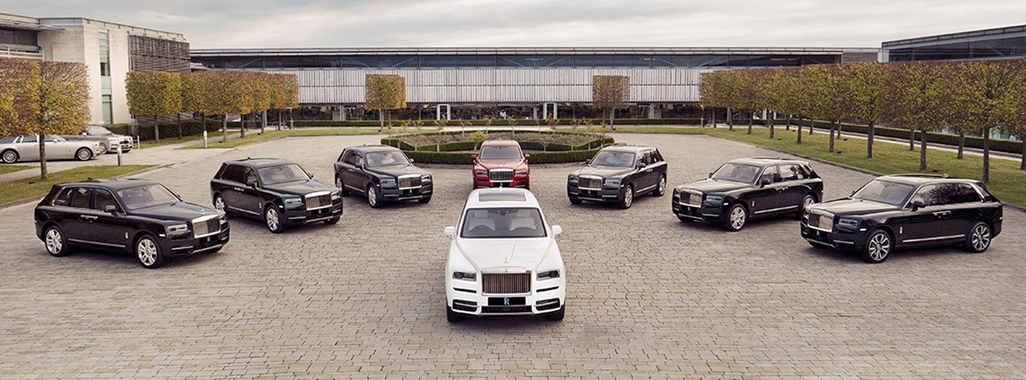 The company sold 22% more cars last year © Rolls-Royce plc