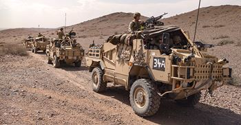 Capita was hired in 2012, during the war in Afghanistan, to take on recruitment work © MoD/Crown