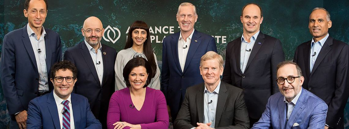 Nine founding members of the Alliance to End Plastic Waste © End Plastic Waste/BASF