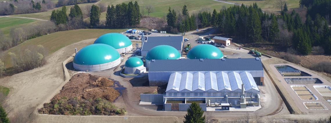 Danone's biodigester converts 40,000 tons of organic waste each year into fertiliser and biogas, used to power homes © Danone