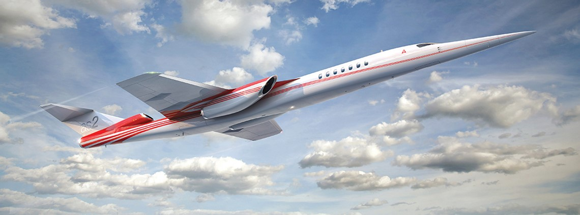 The AS2 business jet can travel at 1,000 mph © Aerion Supersonic