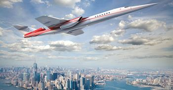 AS2 Supersonic business jet scheduled for its first flight in 2023 © Aerion Supersonic