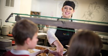 Durham County Council supplier Taylor Shaw provides 'fun to cook' sessions as part of its school meals contract © Taylor Shaw