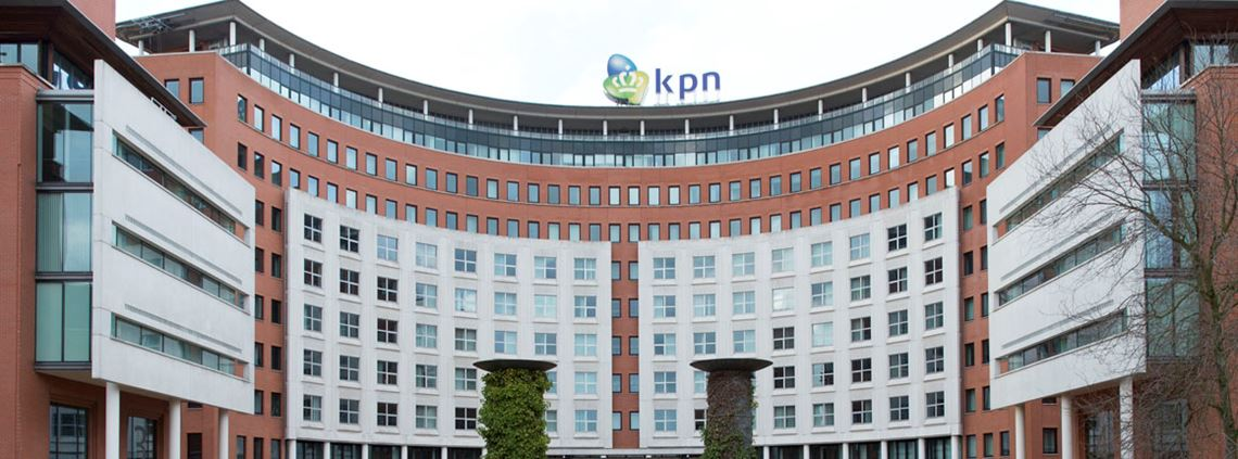 "KPN have been building alliances with institutions and corporations to develop an ""alliance-type structure"". © Photo Michel Porro/Getty Images"