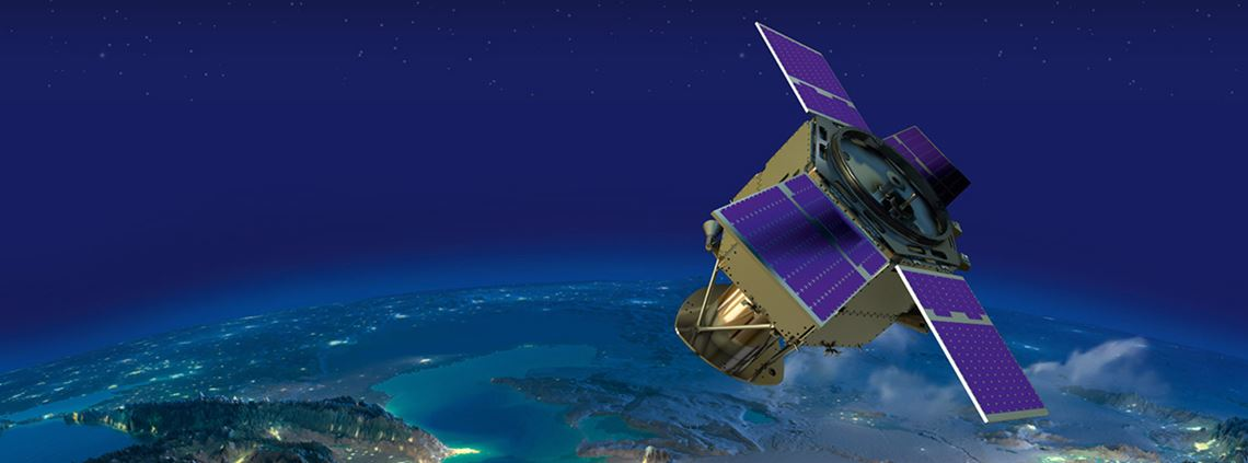 The satellite will be designed and manufactured by engineers from the Arab Space Coordination Group. © MBRSC