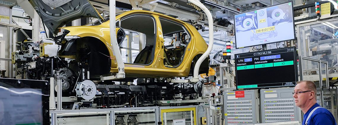 Volkswagen hopes the Industrial Cloud platform will lead to the seamless digitalisation of its production and logistics. © Volkswagen