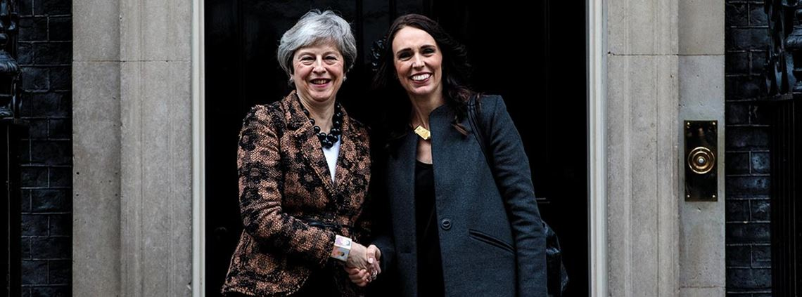 New Zealand PM Jacinda Ardern says post-Brexit trade deals are a priority ©Jack Taylor/Getty Images