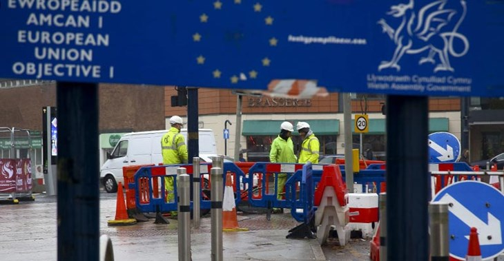 The £12m Kingsway project – part-funded by the EU – on which Dawnus was contracted ©Geoff Caddick/AFP/Getty Images