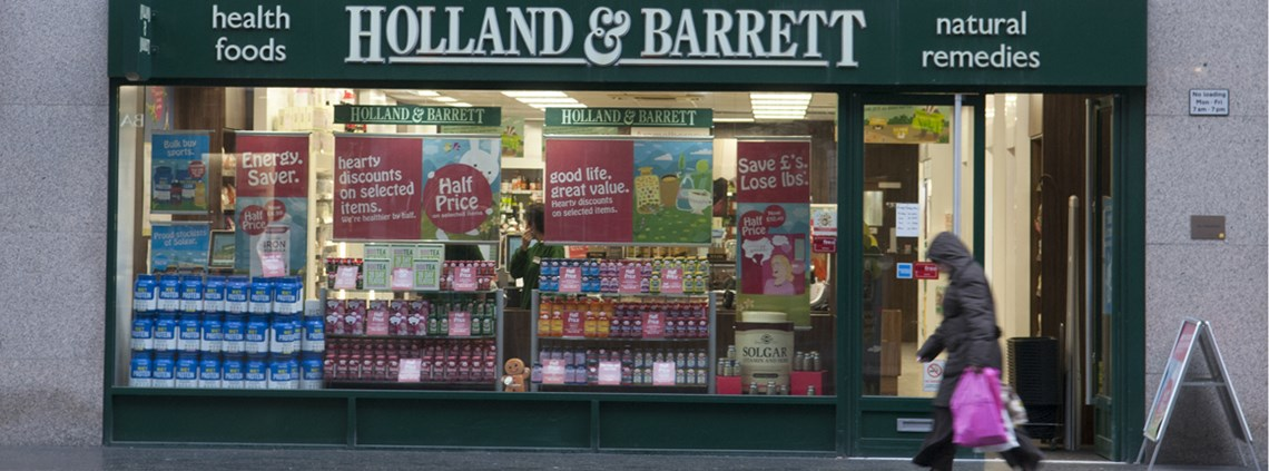 Holland & Barrett had been criticised by the BEIS committee over its poor payment practices in April 2018 © John Keeble/Getty Images