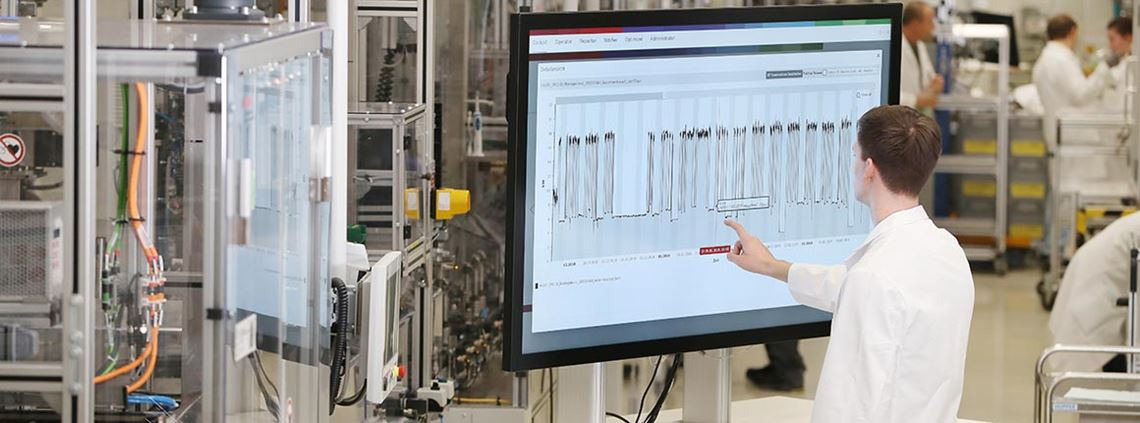 Bosch has developed an energy management platform which uses data to conserve energy at its Hamburg location © Bosch
