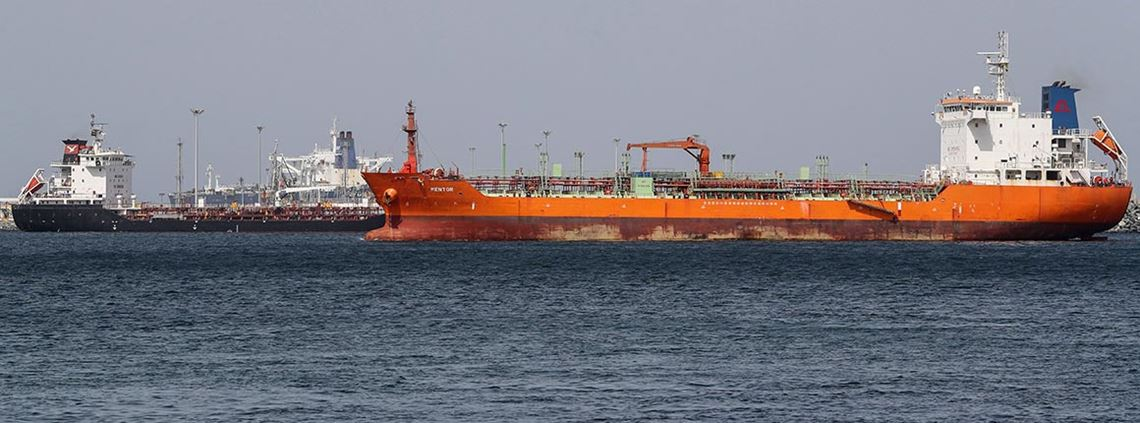 The attacks took place in the Gulf of Oman, off the coast from the Port of Fujairah © AFP/Getty Images