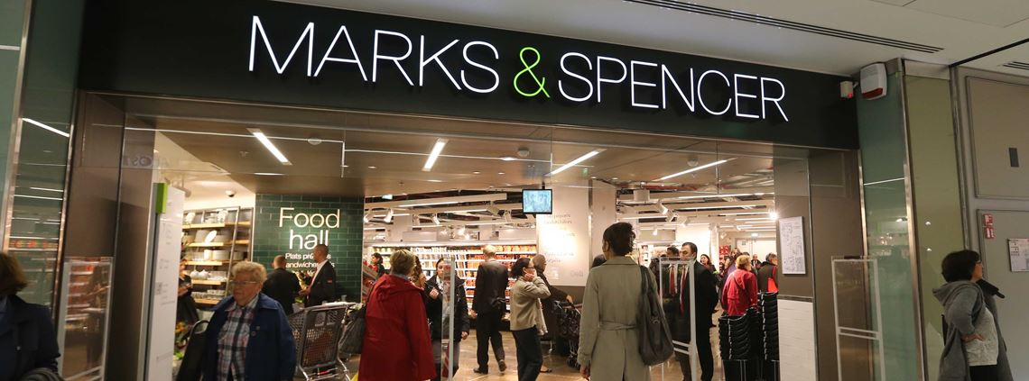 The store closure programme has produced costs of approximately £222m, with further charges expected. © AFP/Stringer