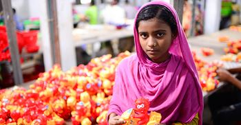 Sectors where child labour is most prevalent include toys, apparel, and agriculture. © my NurPhoto/Getty Images