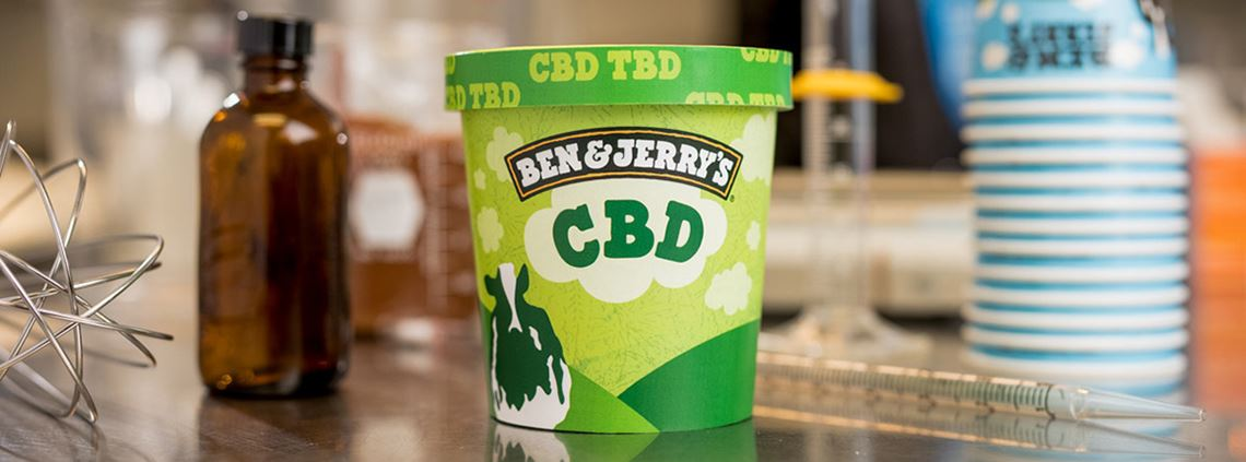 Ben & Jerry's would look to source CBD from the ice cream maker's home state of Vermont © Ben & Jerry's