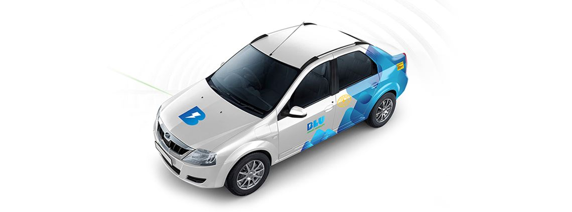 The Blu Smart fleet of 500 eVerito sedans will be fully operational by April 2020. © Blu Smart