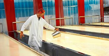 Production lines moving to Bahrain facility. © Arla Foods
