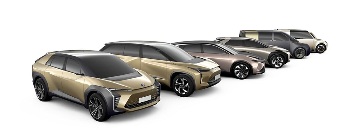 Toyota, which is developing a new fleet of electric vehicles, came top in the SRM ranking  © Toyota