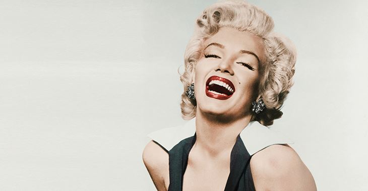 Marilyn Monroe wore Revlon lipstick (credit Getty Images)