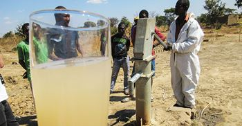 The Zambian claimants allege their water has been polluted ©John Vidal/Observer/eyevine