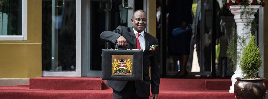 Kenya's finance minister Henry Rotich said the treasury would ensure local suppliers are paid within 60 days by the national government © AFP/Getty Images