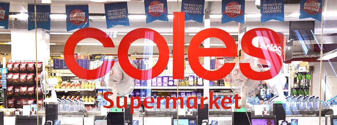 Coles aims to save $1bn through investing in technology to assist with efficiency such as automation © AFP/Getty Images