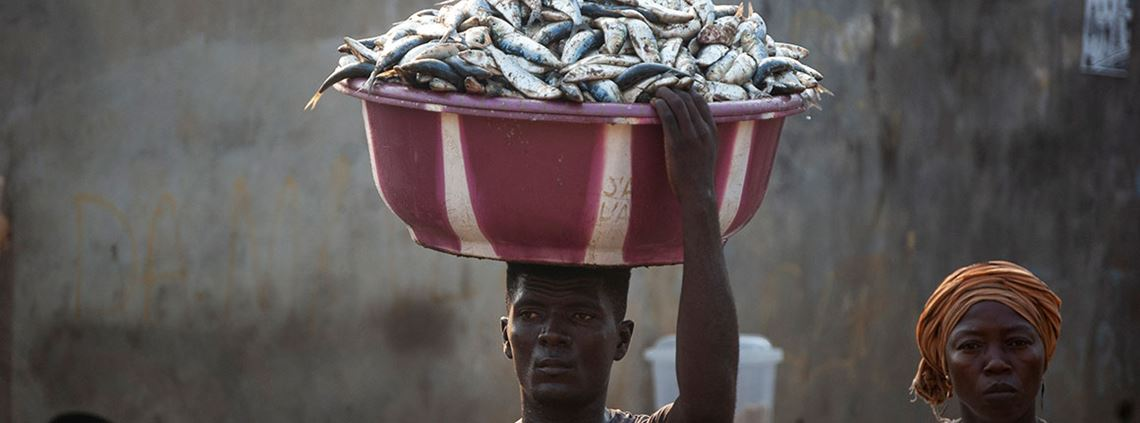 The Ministry of Fisheries in Sierra Leone announced a month-long closed season to protect fish stocks © AFP/Getty Images