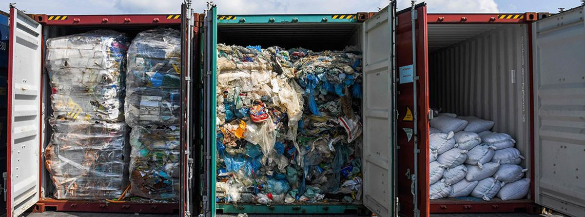 Malaysia has said it will be shipping waste back to the UK, Canada, US and Australia © AFP/Getty Images