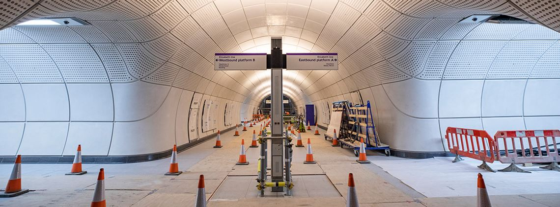 There have been 2,100 'compensation events' related to contract changes © Crossrail