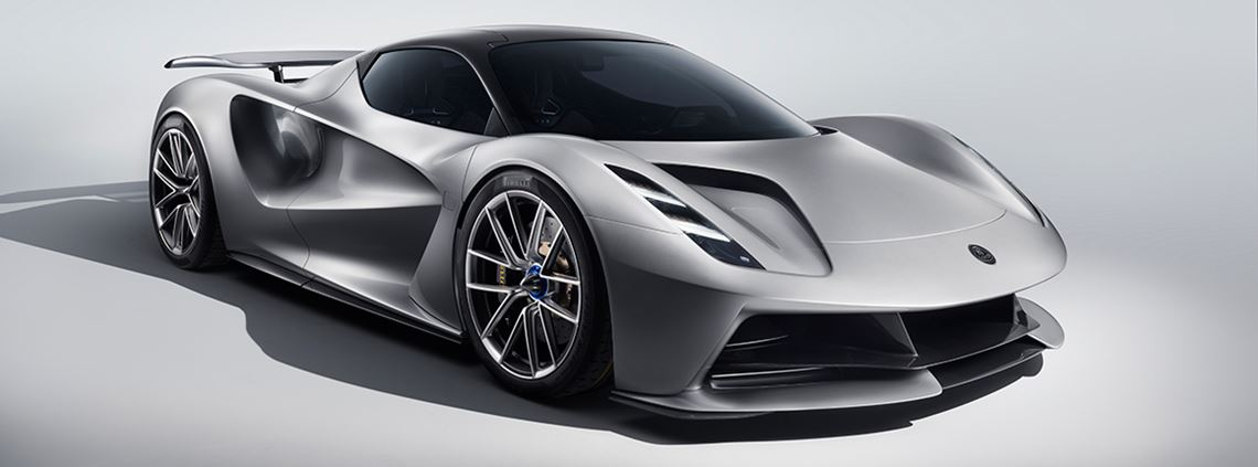 The Lotus Evija all-electric hypercar will go into production in 2020. © Lotus Cars