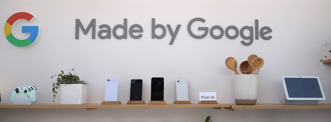 Google Pixel phones and Home assistants will be made using recycled materials from 2022 © Justin Sullivan/Getty Images