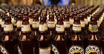 Diageo said Tusker will be the most sustainable brewery in Sub-Saharan Africa. © SIMON MAINA/AFP/Getty Images