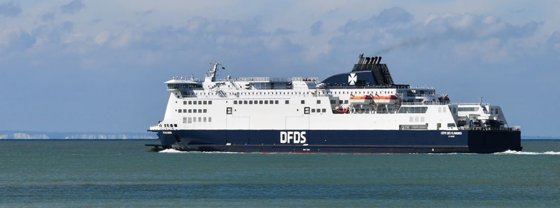 The DfT cancelled contracts with DFDS, Brittany and Seaborne ferries to provide extra freight capacity earlier this year © DENIS CHARLET/AFP/Getty Images
