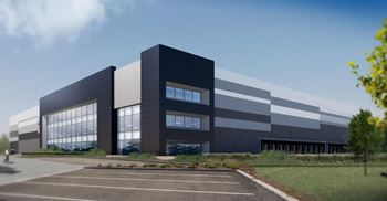 A digital representation of the JLR distribution campus. © IM Properties
