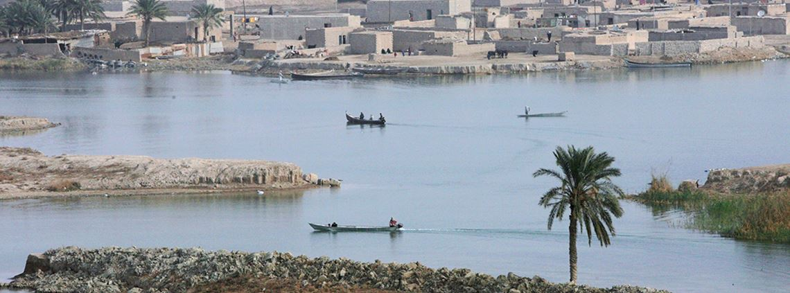 Freshwater supplies from the Tigris-Euphrates support 60m people. © Matt Cardy/Getty Images