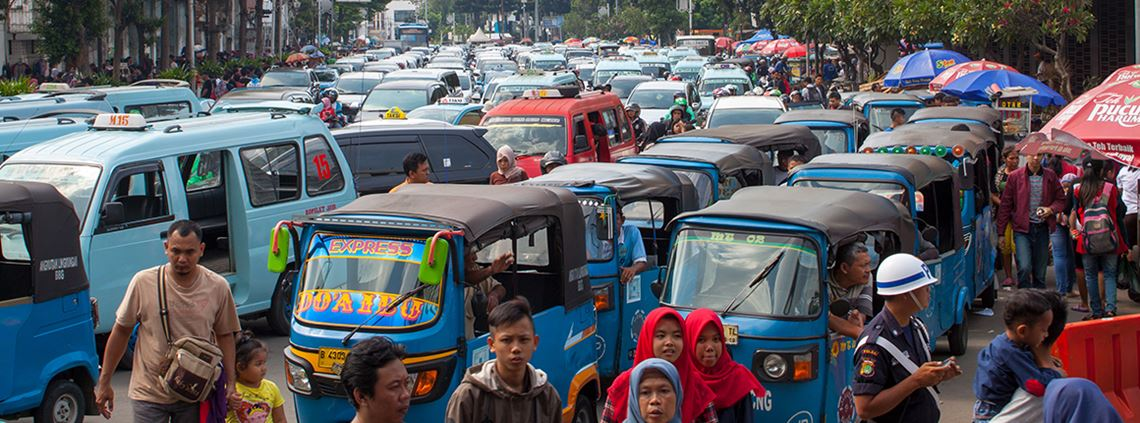 Congestion in Jakarta is estimated to cost the economy millions © Getty Images