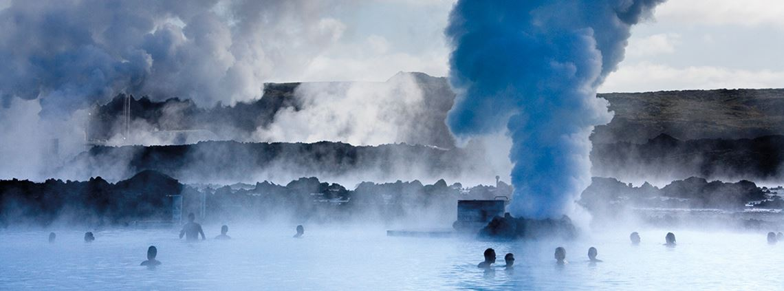 Iceland's volcanic nature may be bad for supply chains but is great for tourism and geothermal energy ©Getty Images