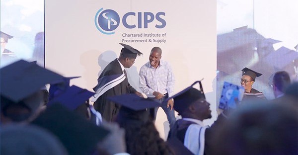 Celebrations as CIPS Africa students graduate - Supply